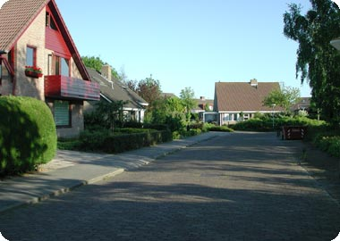 DE KEIWEG IN DE MEULHOEK IN KOUDEKERKE