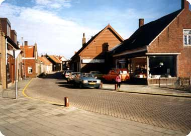 Tramstraat Koudekerke in 1988